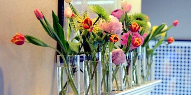 Simple flower decorating ideas for home