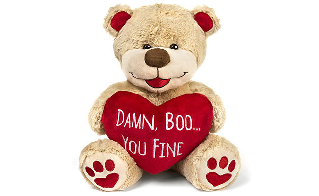 Heart and Message Teddy Bears