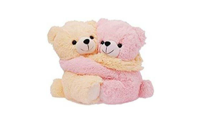 Hugging Teddy Bears