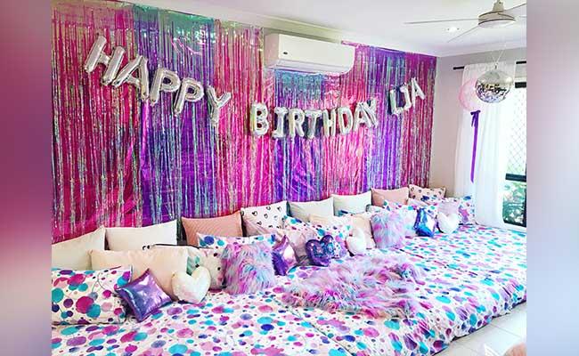 Sleepover Slumber Bday Party