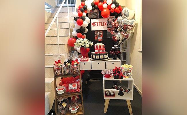 Netflix Birthday Party