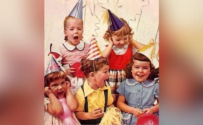Vintage Bday Party