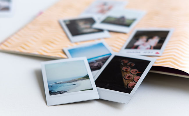 Photo albums for 40th birthday gift