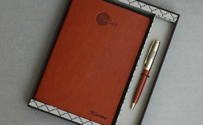 Diary And Pen Set