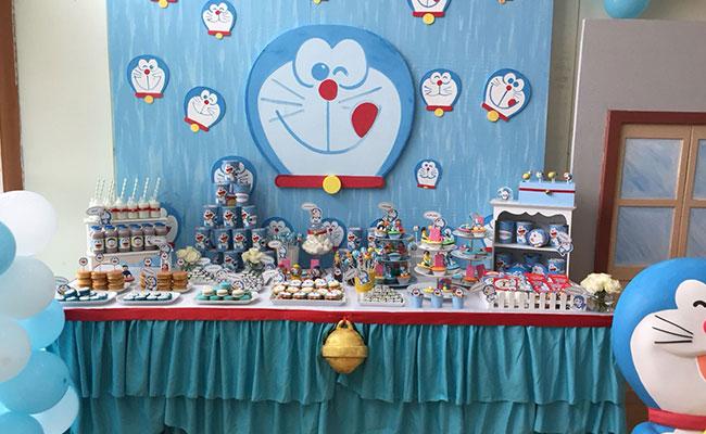 Doraemon Themed Party