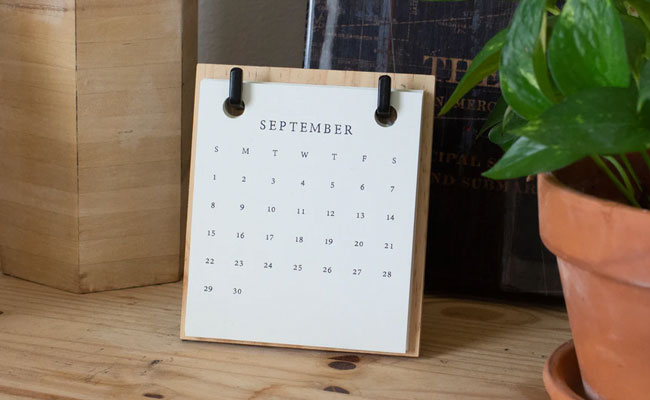Personalised Calendar For Boyfriend