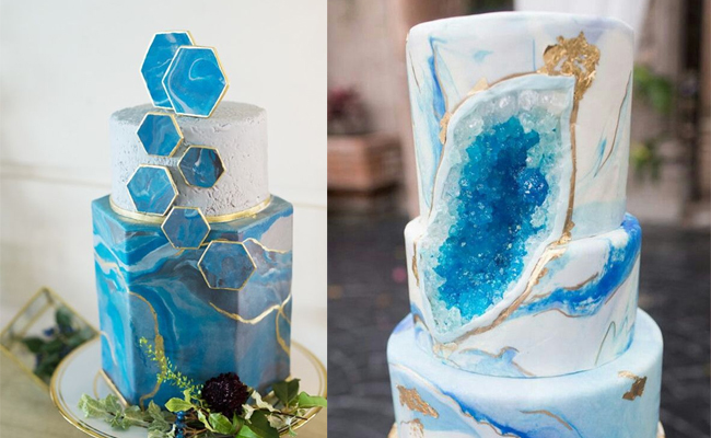 Blue Agate Cake