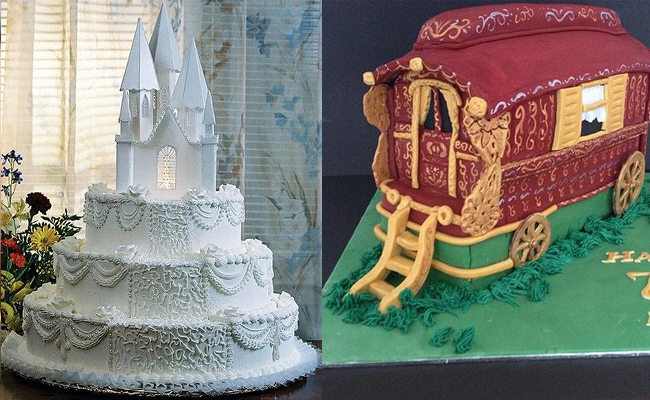 Castle Wagon Cake
