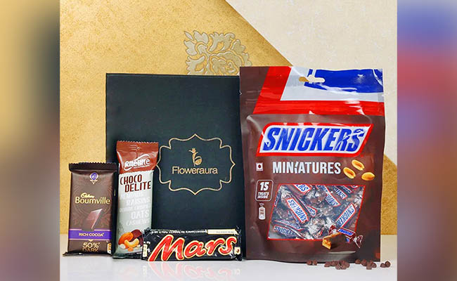Chocolicious Gift Box For Wife
