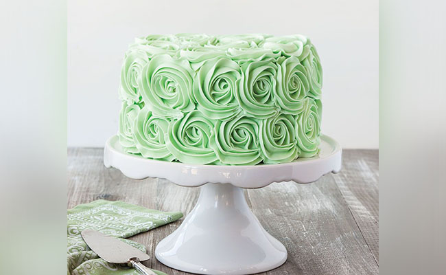 Curlicue The Frosting Birthday Cake Design