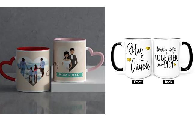 Custom Anniversary Mugs