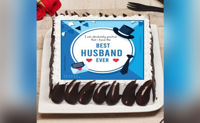 Best Husband Poster Cake