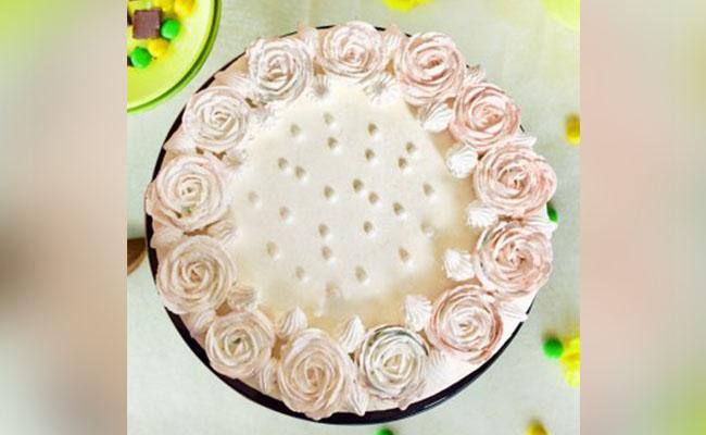 Rose Pearl Cake