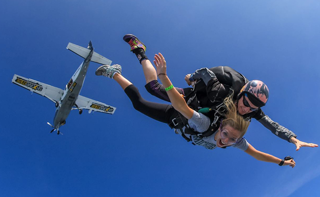 Skydiving - For An Adventurous One