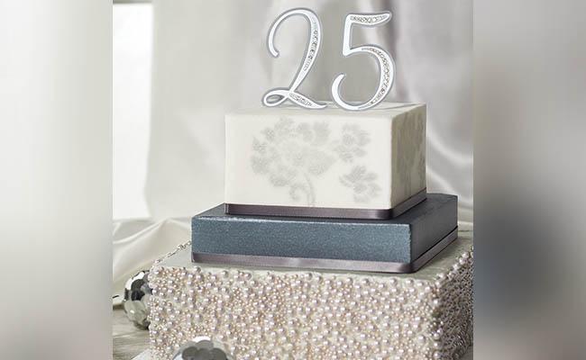 Metallic Cake