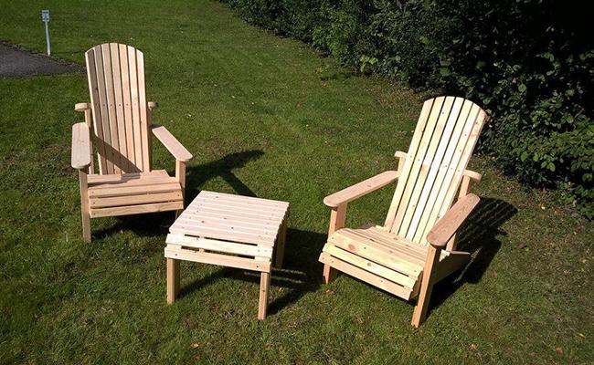 DIY Garden Chairs