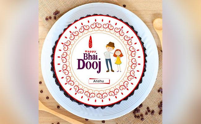 Bhai Dooj Cake