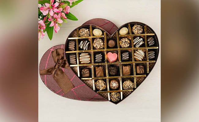 Chocolate gift pack for GF