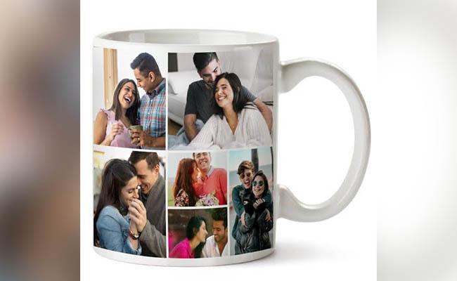 Birthday personalised mug for GF