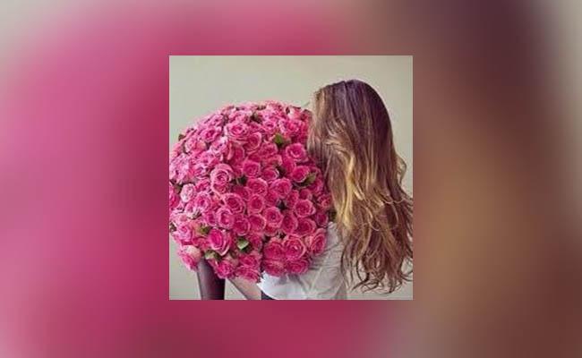 Fresh flowers bouquet for GF