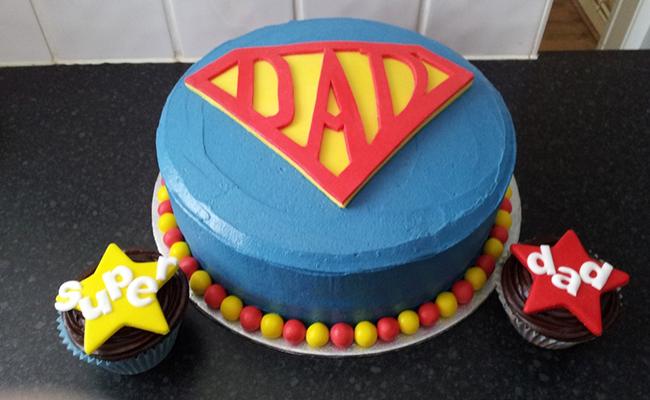 Special Super DAD Cake