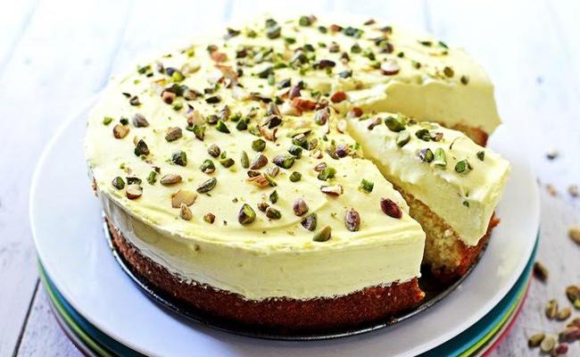 Thandai Mousse Cake