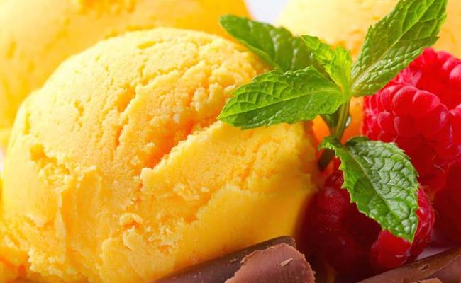 Turmeric Ice Cream