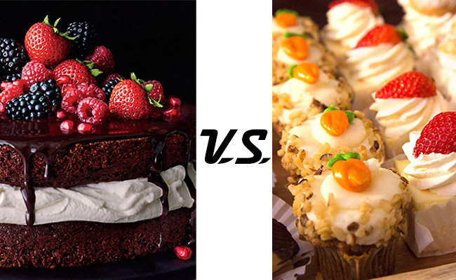 Cakes Vs Pastries