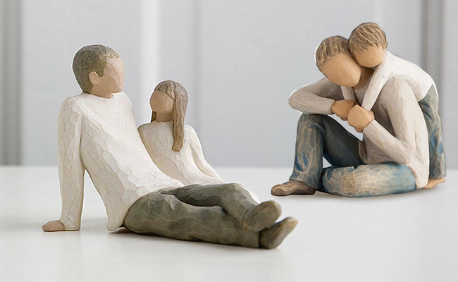 Father-Child Figurine