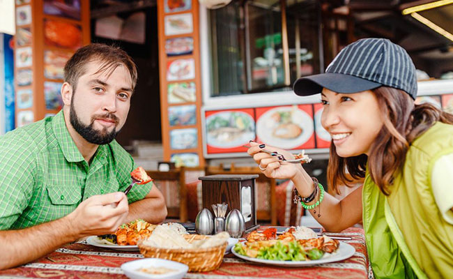 couples taking local eateries on Anniversary