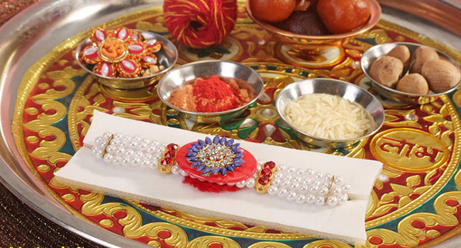 Perform Rakhi Rituals