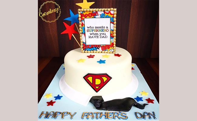Superhero Designer Cake