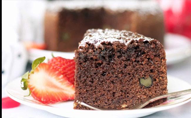 Suji Chocolate Cake microwave