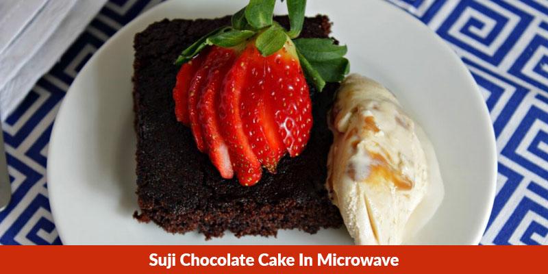 Suji Chocolate Cake