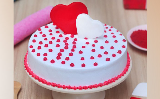 All Your Heart Anniversary Cake