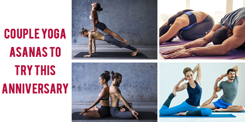 Couples Yoga Asanas for anniversary