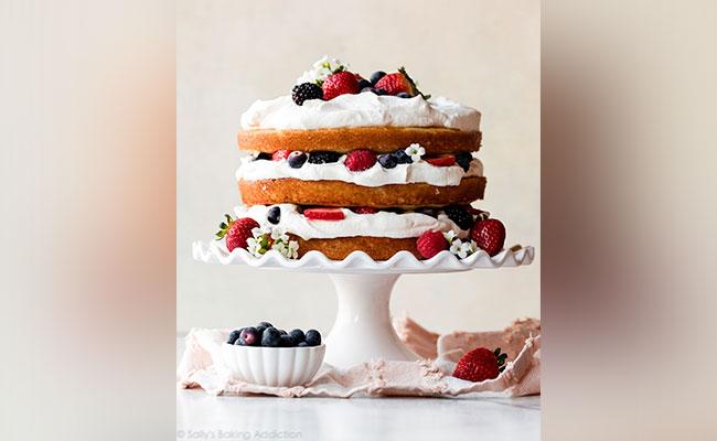 Recipe for Berry Cake