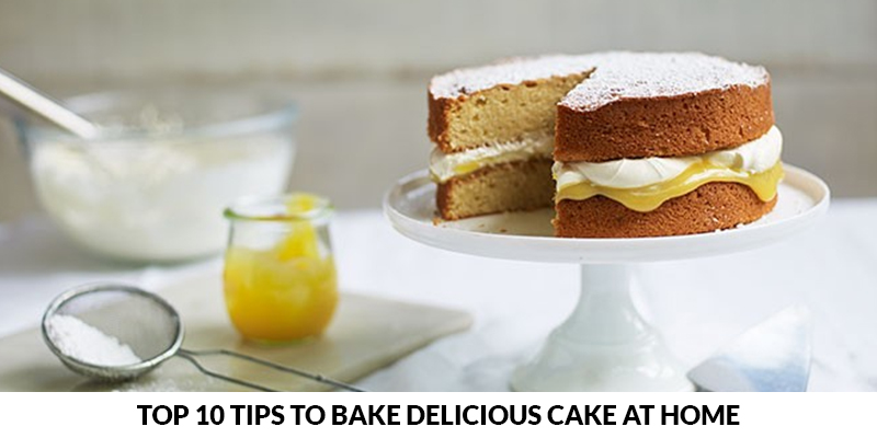 Bake Delicious Cake at Home