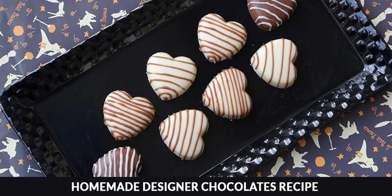 Homemade Designer Chocolates Recipe