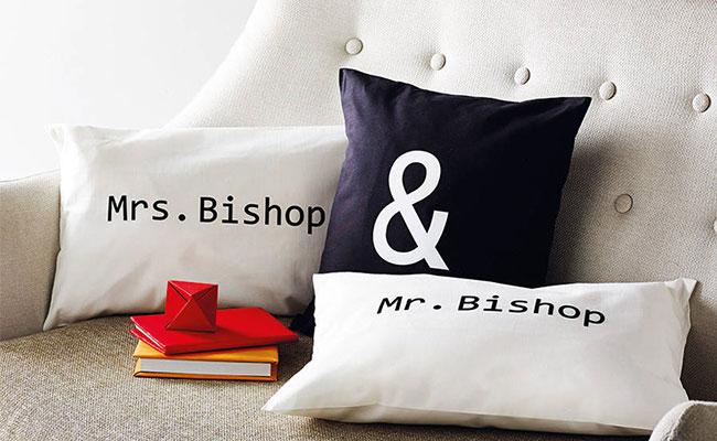 Personalised Couple Cushions