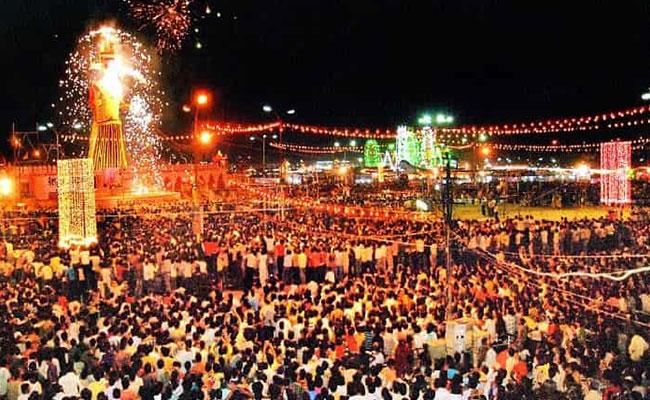 Dussehra celebration in Western India