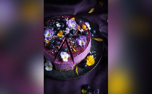 Blueberry Lemon Cheesecake