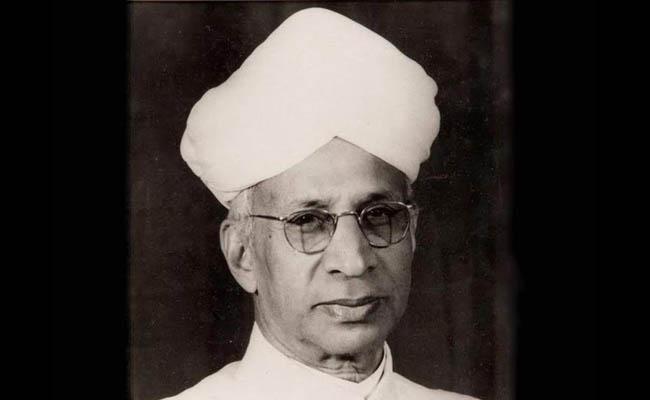 Dr Sarvepalli Radhakrishnan