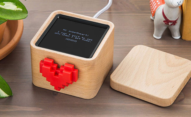 Personalised Heart Message Box