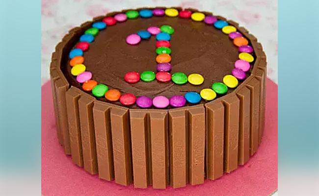 Kitkat/ Gems Birthday Cake
