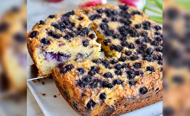 Flourless Blueberry Cake Recipe