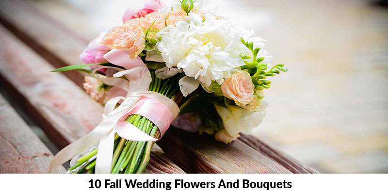 Fall Wedding Flowers And Bouquets
