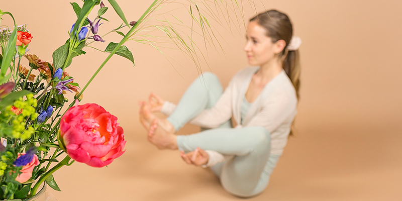Flower Yoga Pose - Inspired by Lotus Flower