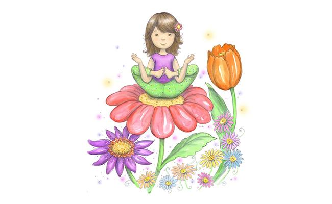Flower Yoga Pose