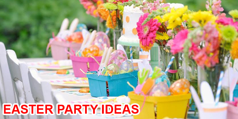 Organise your Easter party - the Floral Way